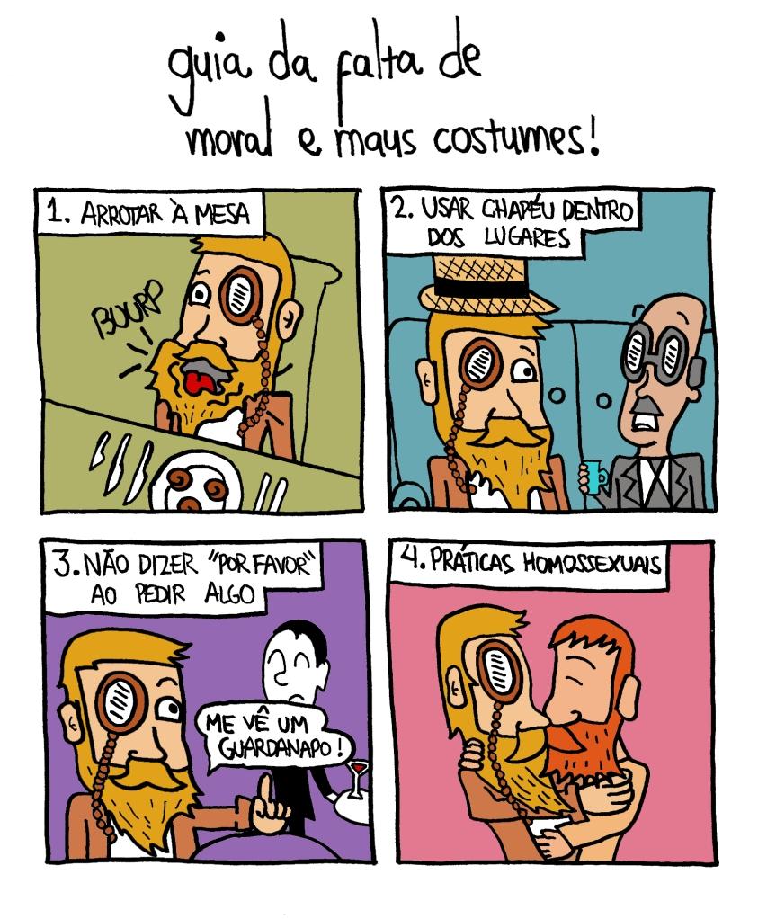guia dos maus costumes