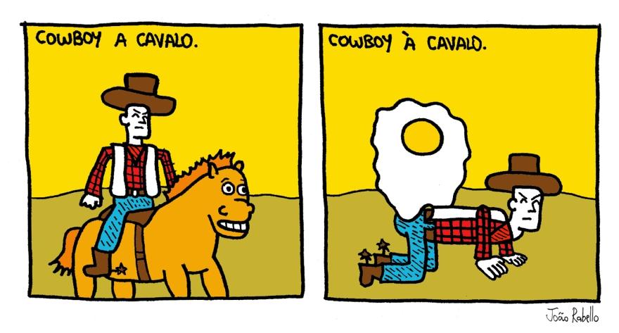a cavalo
